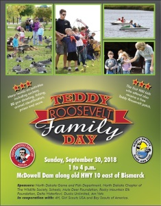 Teddy Roosevelt Family Day 2018